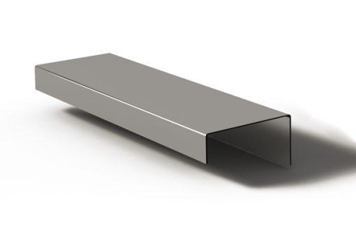 Tirador perfil 149 Aluminio plata