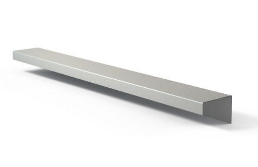 Tirador perfil 152 Aluminio plata
