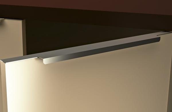Tirador perfil 153 rc tiradores para muebles - Tiradores de cocina modernos ...