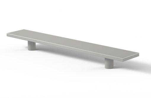 Tirador 2011 Aluminio plata