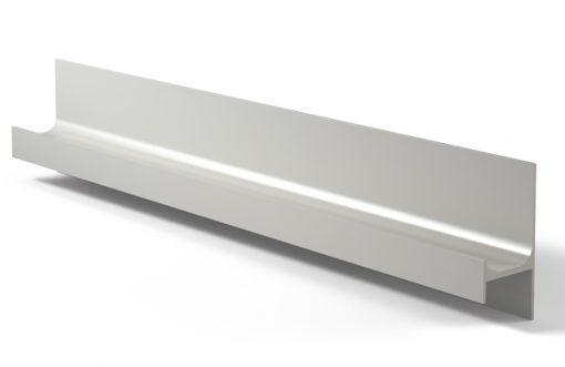 Tirador perfil 218 Aluminio plata