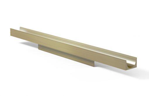 Tirador 270 Aluminio inox