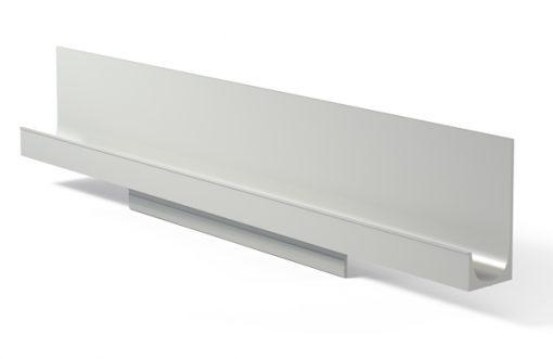 Tirador perfil 271 Aluminio plata