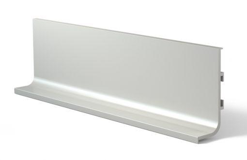 Tirador perfil gola 3000J Aluminio Plata